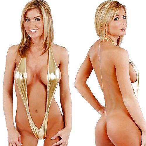 Geile Blonden haben aufregende Brüste. - Bild 9