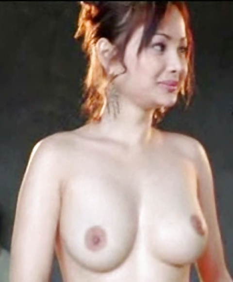 Nackte asiatische Titten und behaarte Muschi widg gefotografiert. - Bild 5