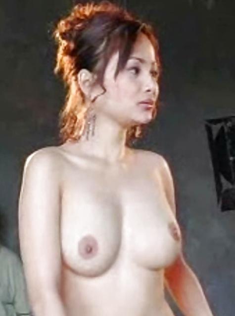 Nackte asiatische Titten und behaarte Muschi widg gefotografiert. - Bild 6